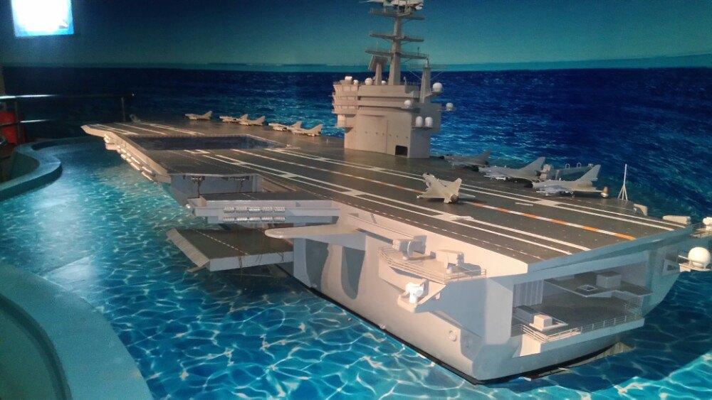科技小制作航母