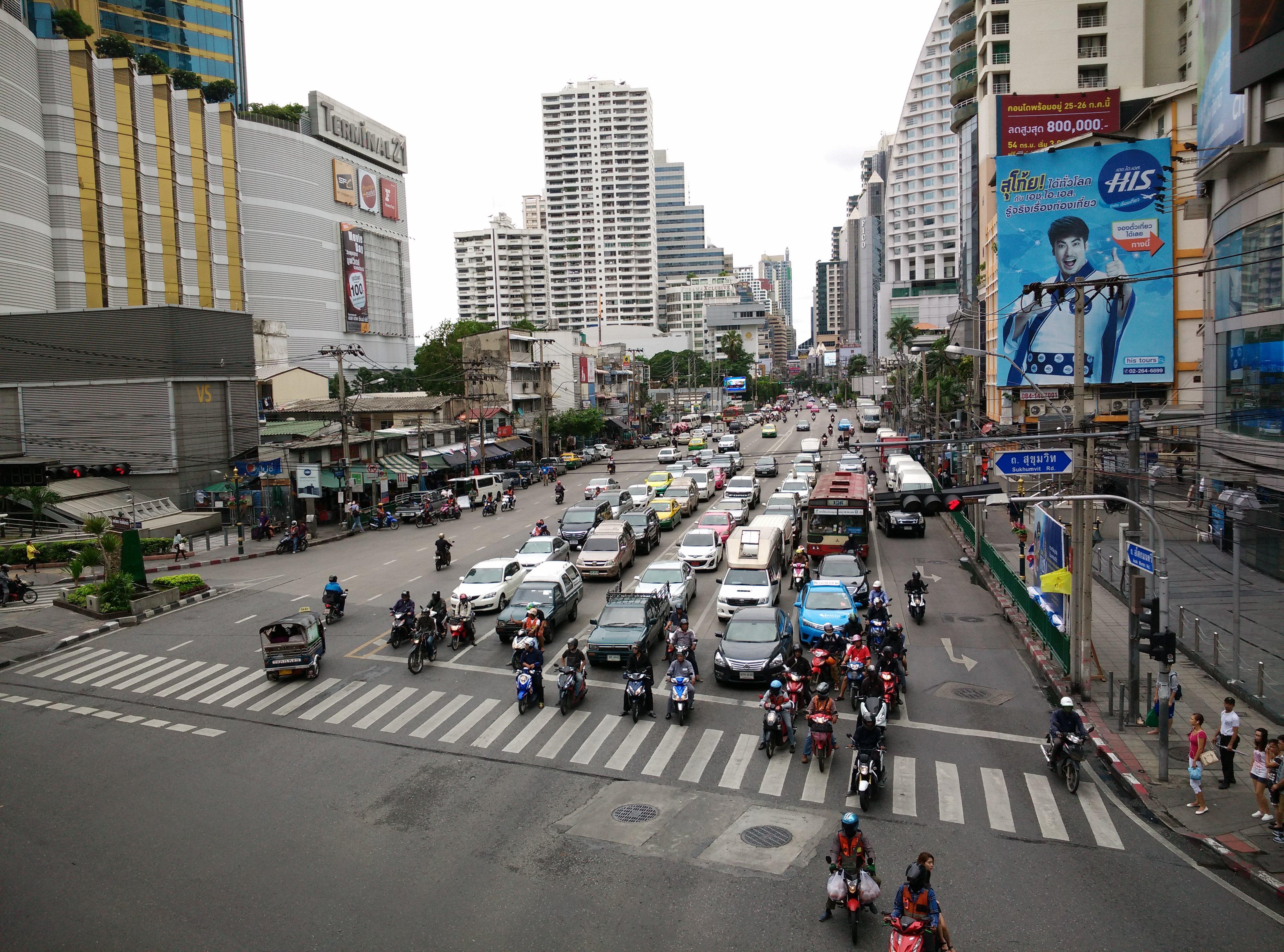 曼谷的街景