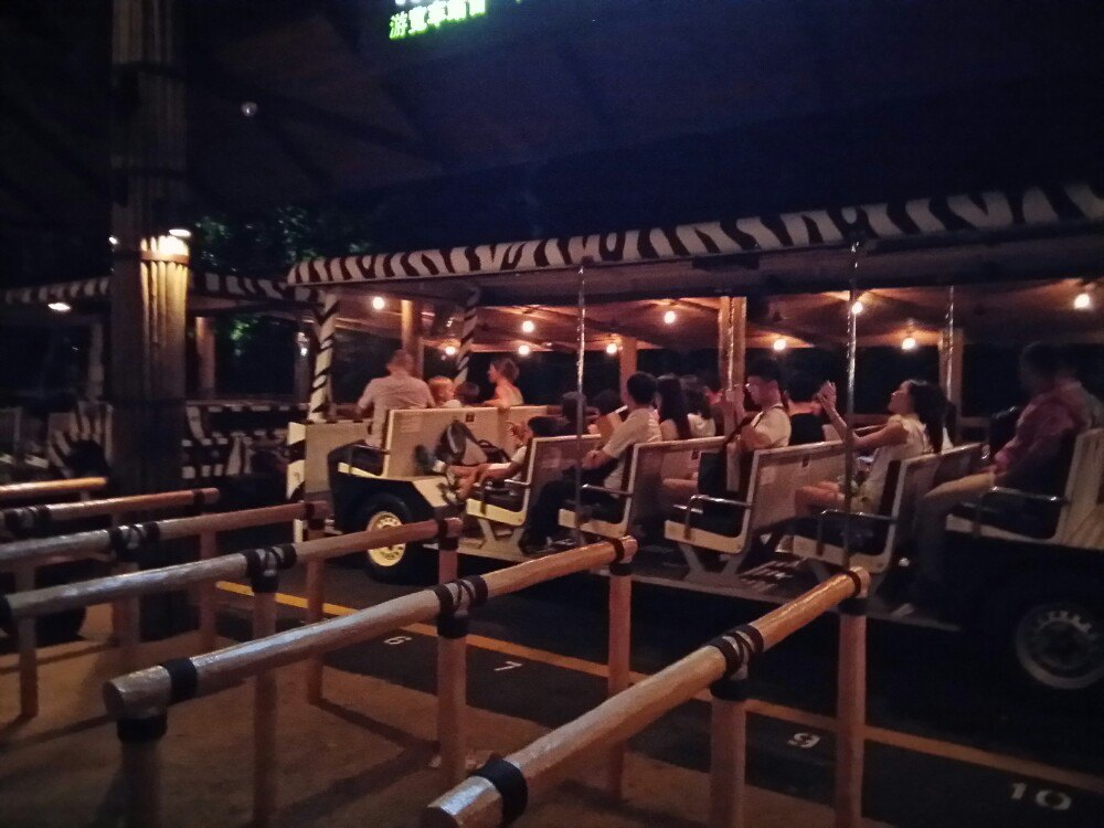 【携程攻略】新加坡夜间野生动物园景点