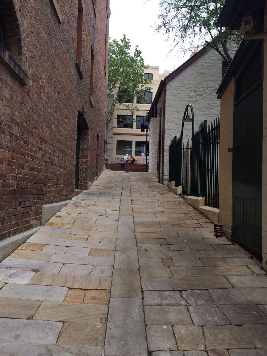 岩石区 The Rocks 的名称源于1788年殖民地刚形成的时候,最早的建筑大多用当地的砂岩建成的,这是悉尼最早开发的地区,曾一度是海员、贸易商、盗贼和妓女的出没地,也是1900年夺去100人性命的腺鼠疫爆发地点,更多的破坏发生于1920年代,为了铺设悉尼大桥南端的通路,一条条街道整个被摧毁。直到1970年,展开了仔细的修复作业,把这个地区转变为游客向往的地方。        苏珊娜