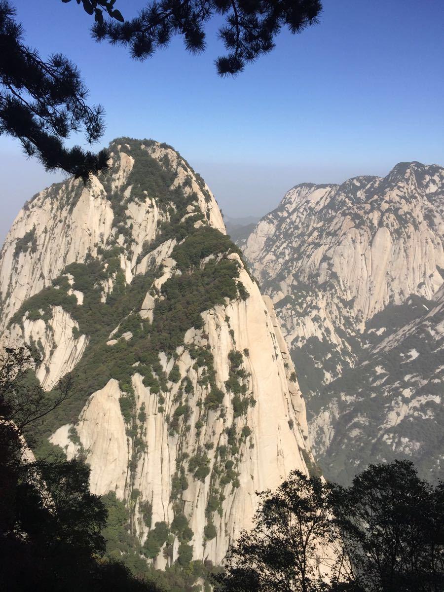 【携程攻略】华山华山景点,风景很好,缆车西峰上北峰图片