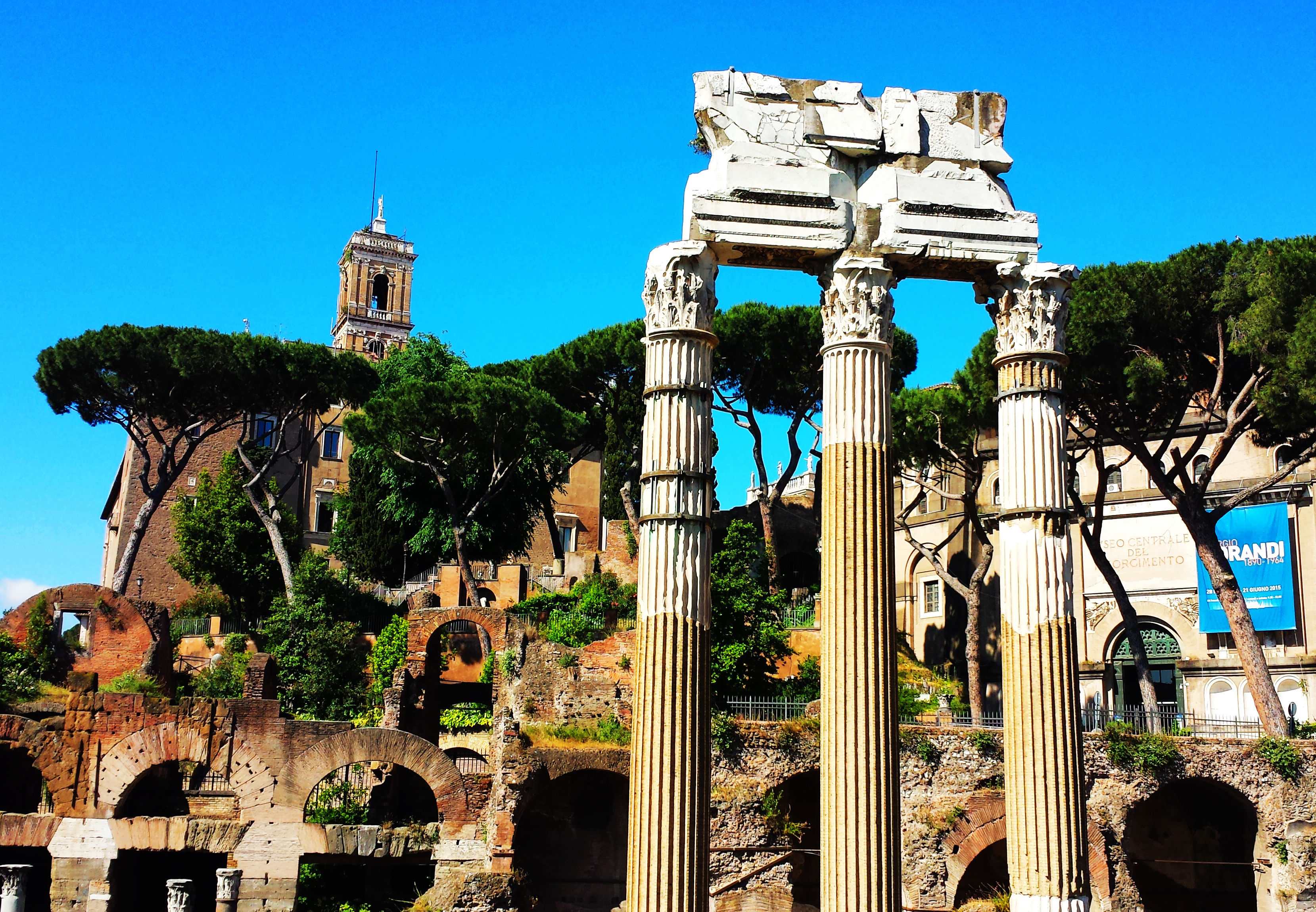 欧式罗马古建筑