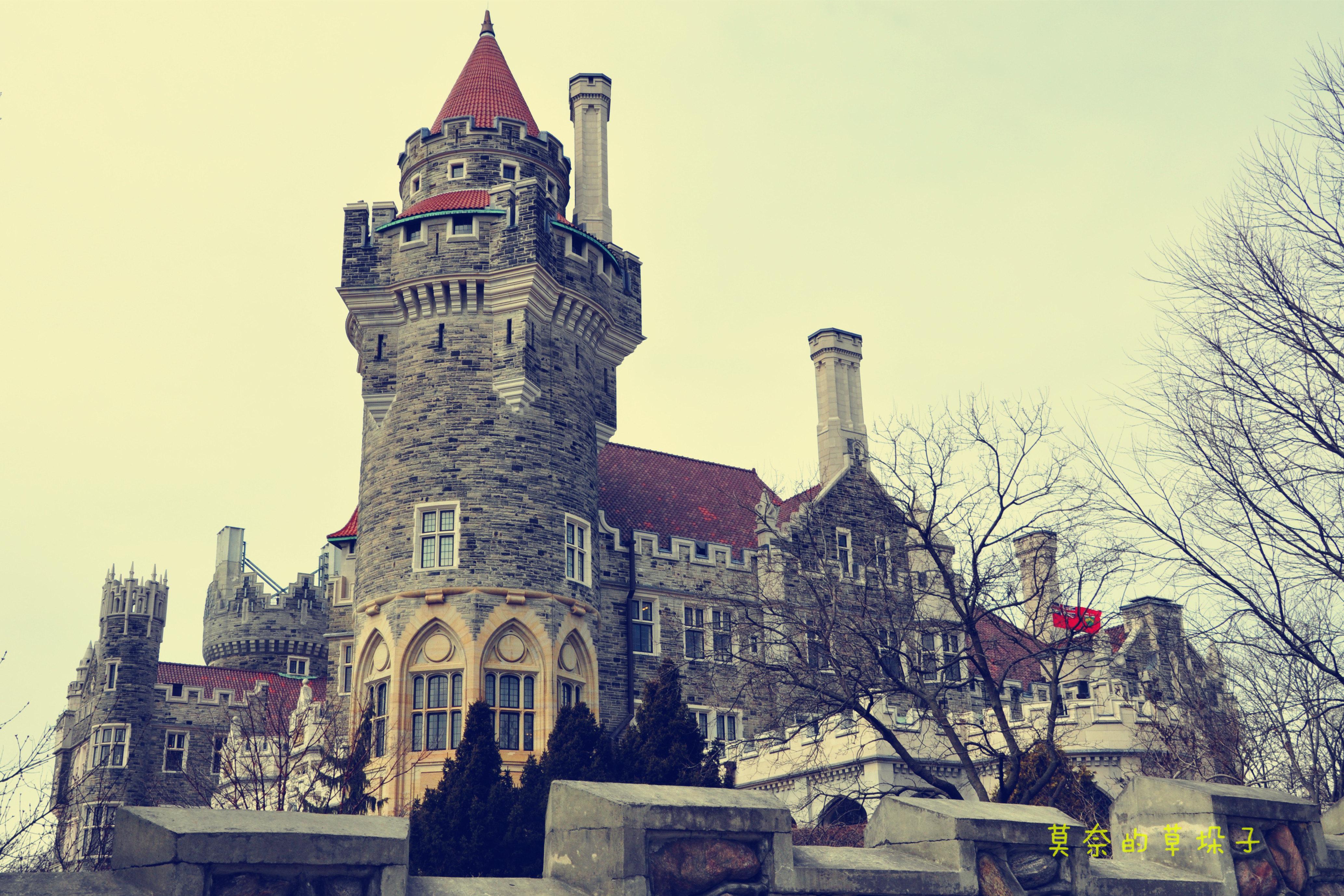 城堡房子画画大全