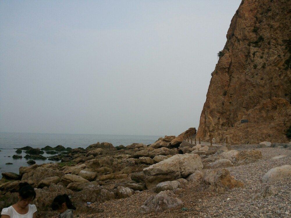 长岛月亮湾图片