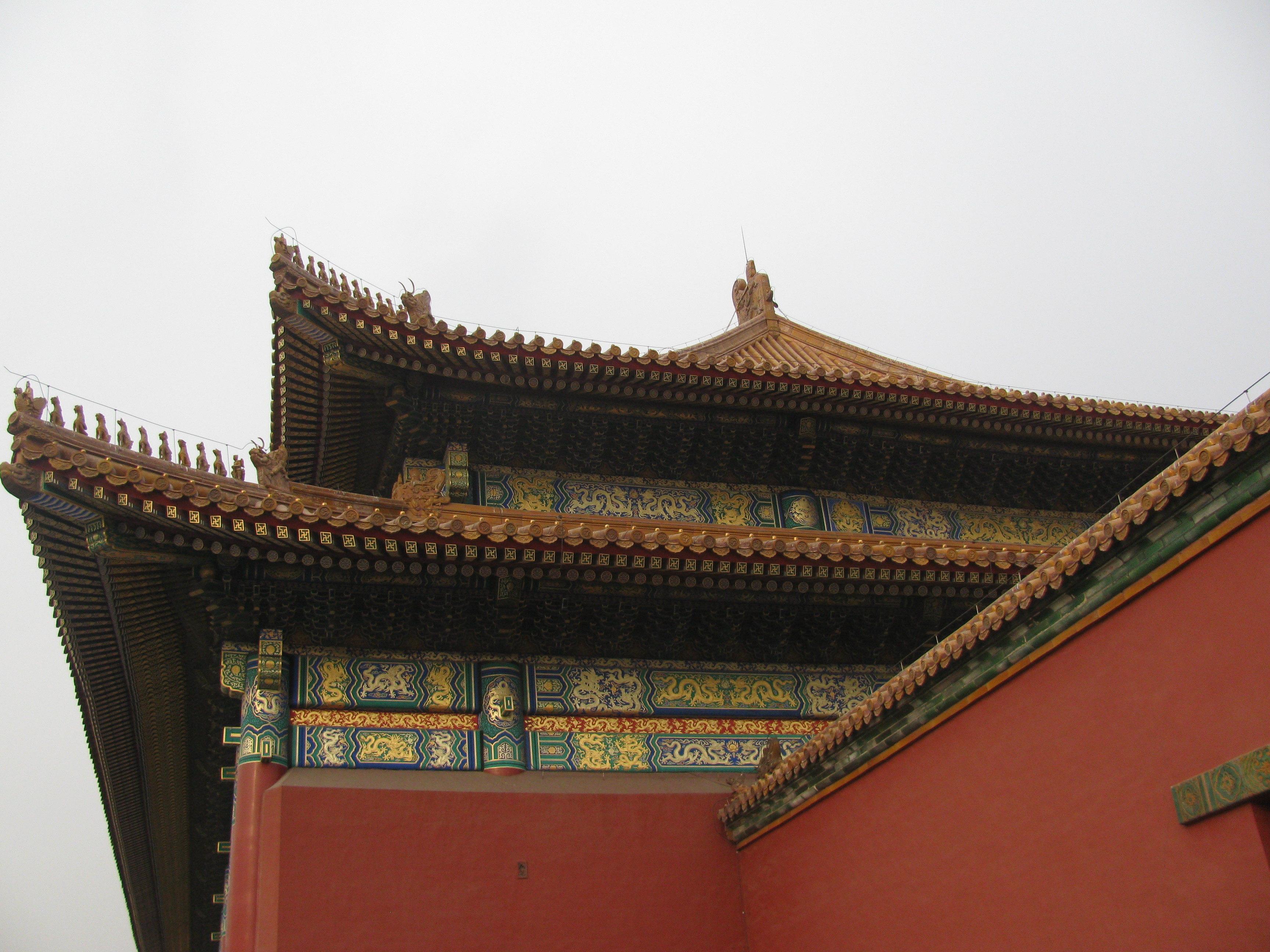 故宫房顶手绘贴图