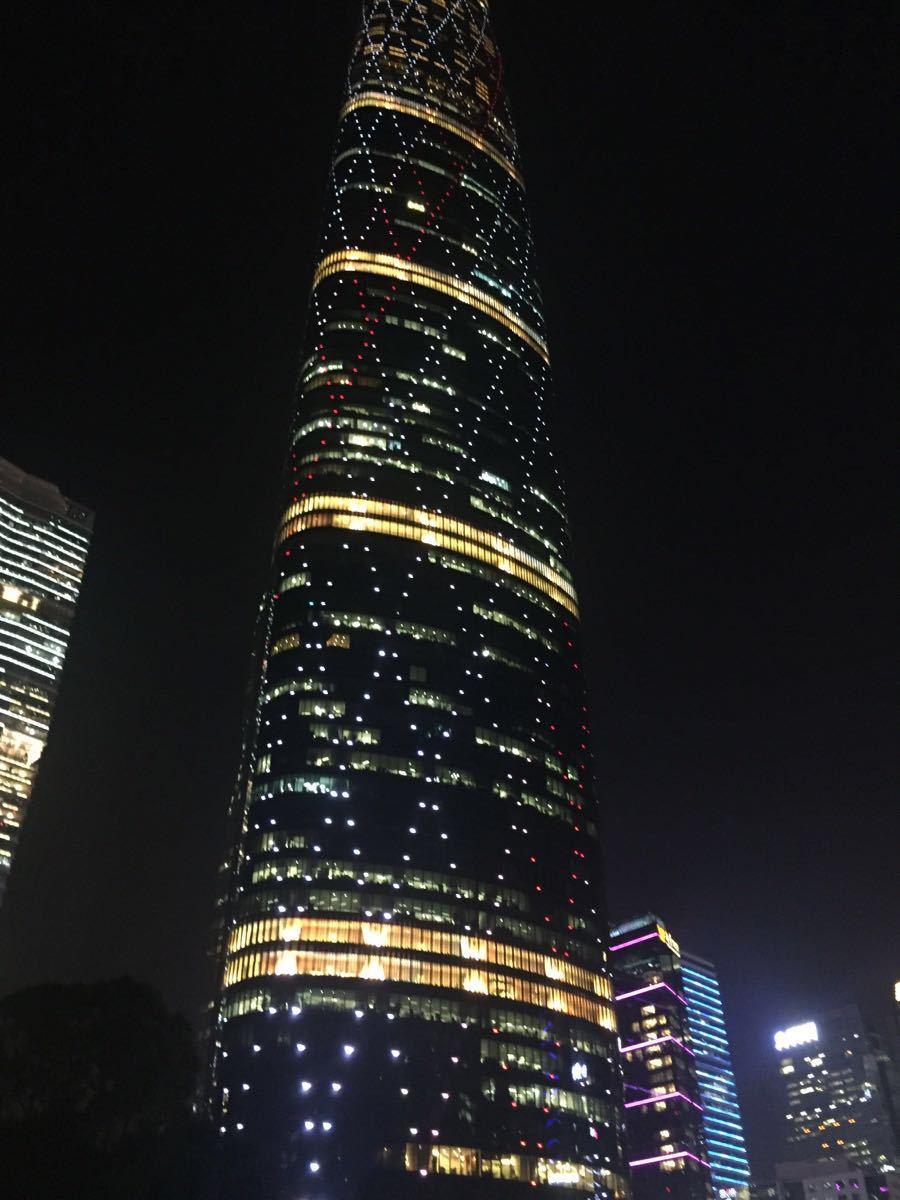 广州西塔旅游景点攻略图