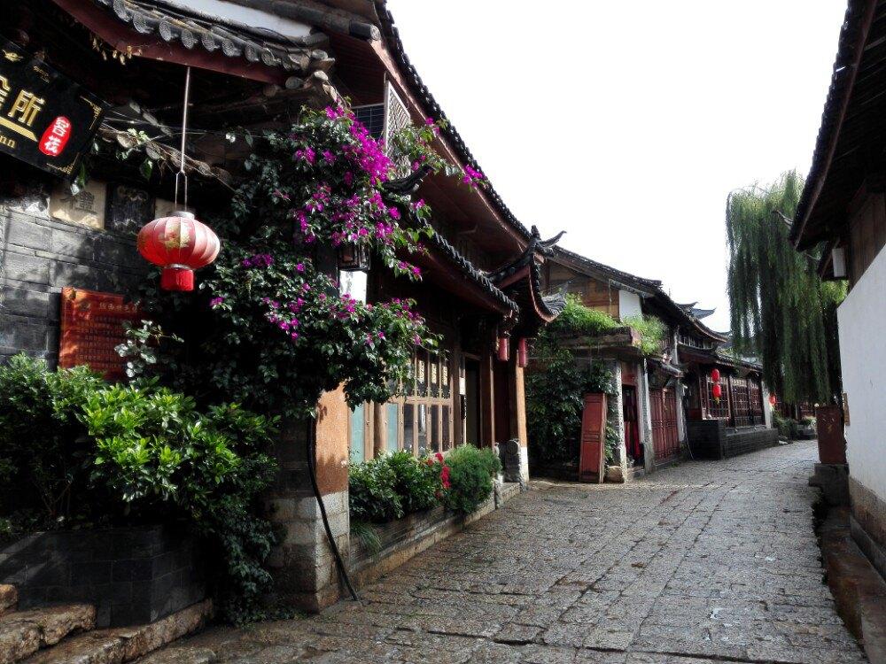 壁纸 建筑 街道 民居 小巷