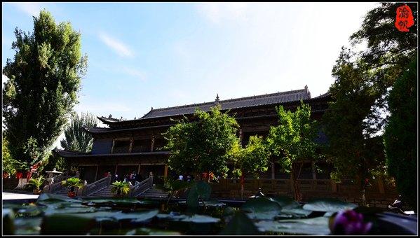 【绚丽甘肃】张掖大佛寺,金张掖的文化名片 - 渝帆 - 渝帆空间