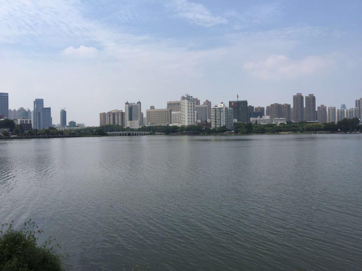东湖风景全景图片