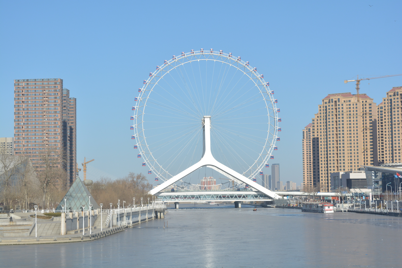 【携程攻略】天津天津之眼摩天轮景点图片