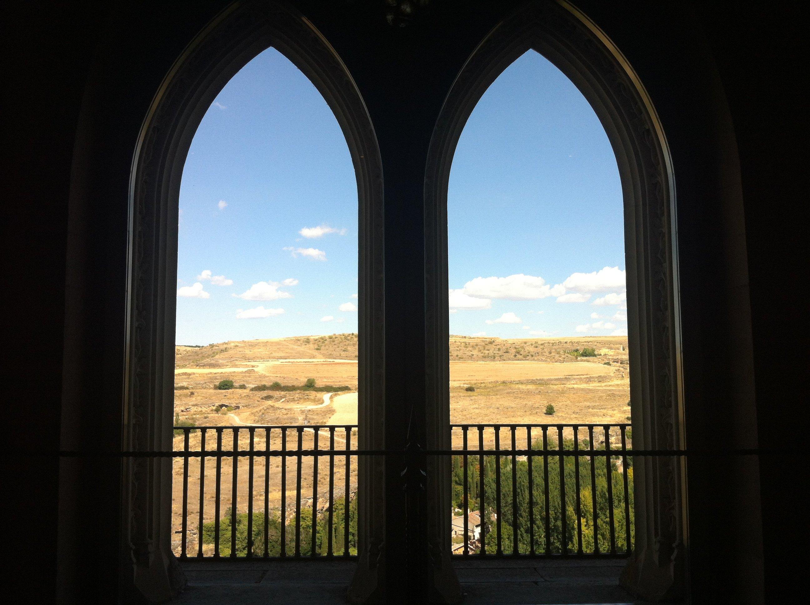 城堡门窗简笔画