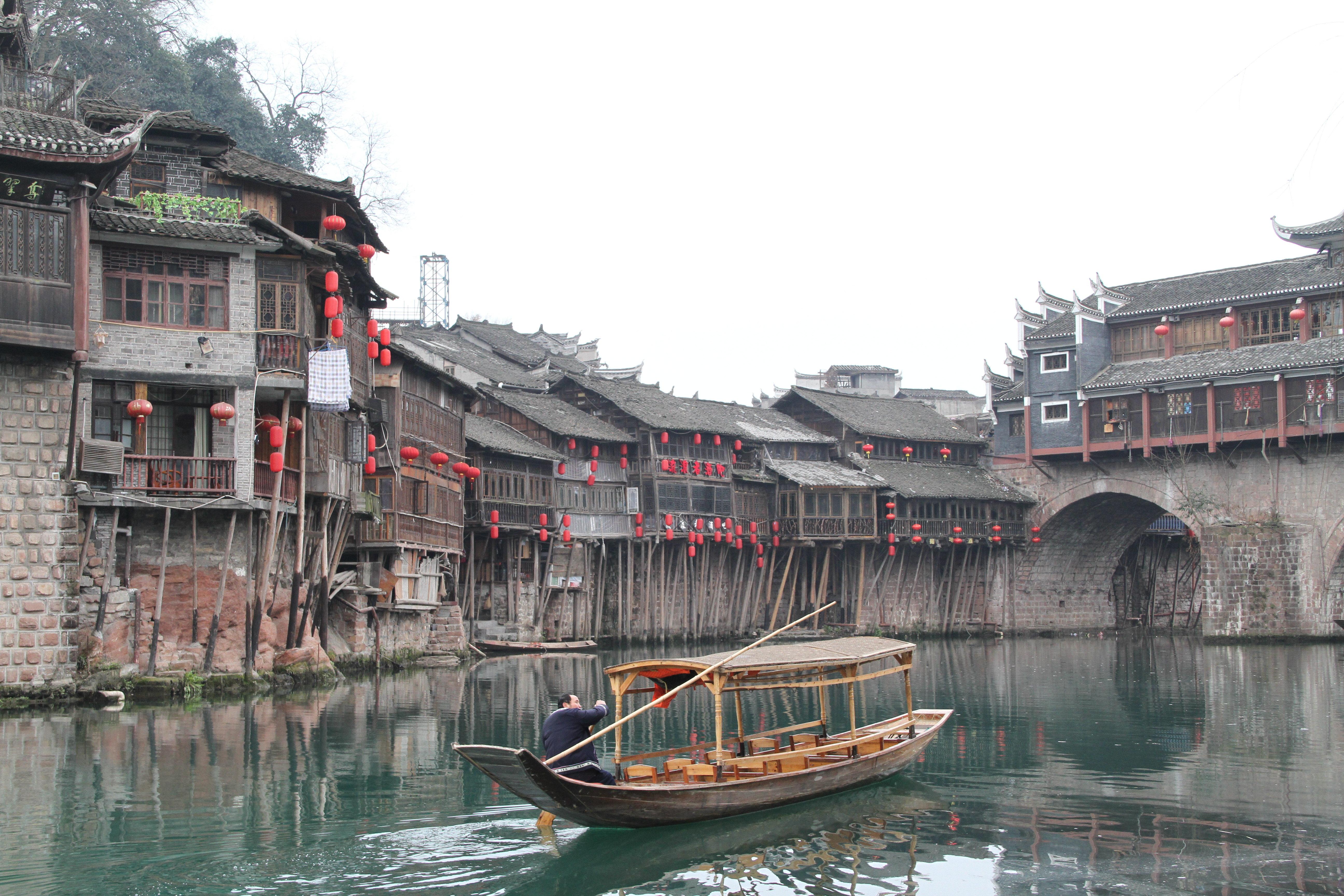 沱江才是凤凰古镇的灵魂
