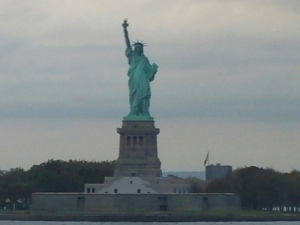 【攜程攻略】紐約自由女神像景點,美國的著名地標建筑