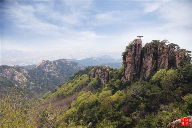 2015年4月 沂蒙山:春日踏春观奇峰,老区拜老品乡情