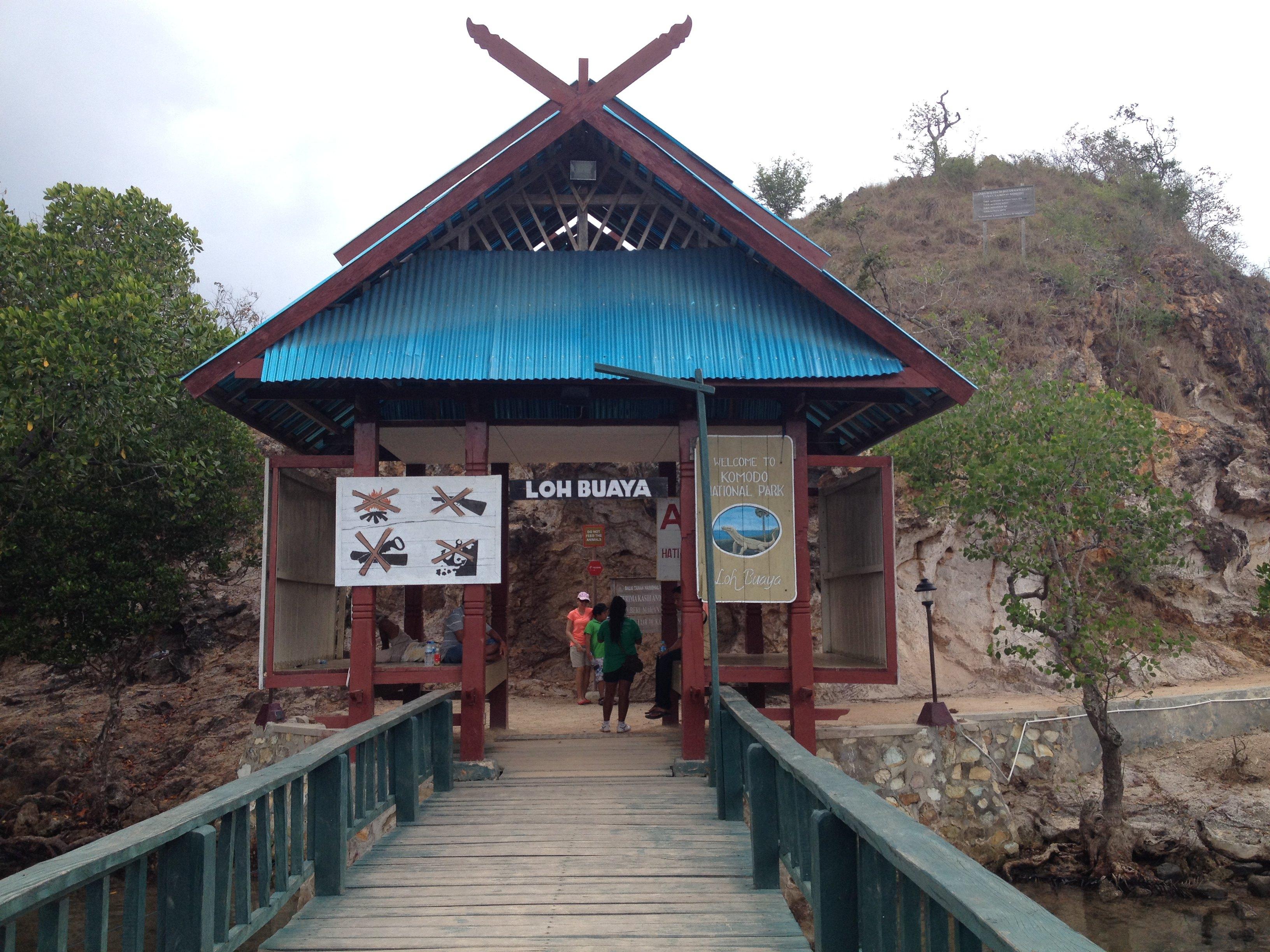 """恐龙灭绝了,但印尼科莫多岛上还有个现实版的""""恐龙乐园"""""""