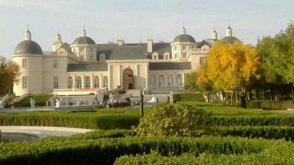 主要是欧式风格的建筑物