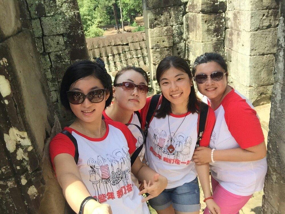 那些年我们在一起,2015年8月四姐妹的柬埔寨之旅