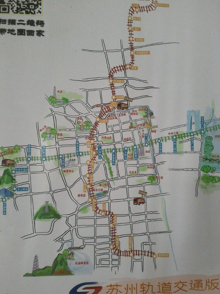 南京台城手绘图