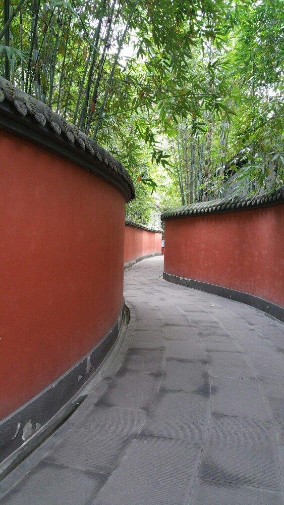 很久没在国内玩了,所以再见到中国的古建筑时,就像是和多年未见的老友再一次重逢似的。还是很喜欢中国木结构的屋宇,飞檐翘角,古意盎然,再加上对中国文化的熟悉,很容易就融入其中。其实武侯祠还是很有看头的,只是人太多了,哪哪都是人,便不免烦躁。 武侯祠里卖的诸葛孔明的小瓷人,真是太卡通了,喜欢的不行。