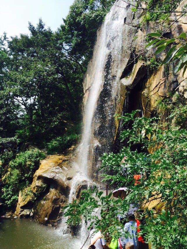 花果树大瀑布风景