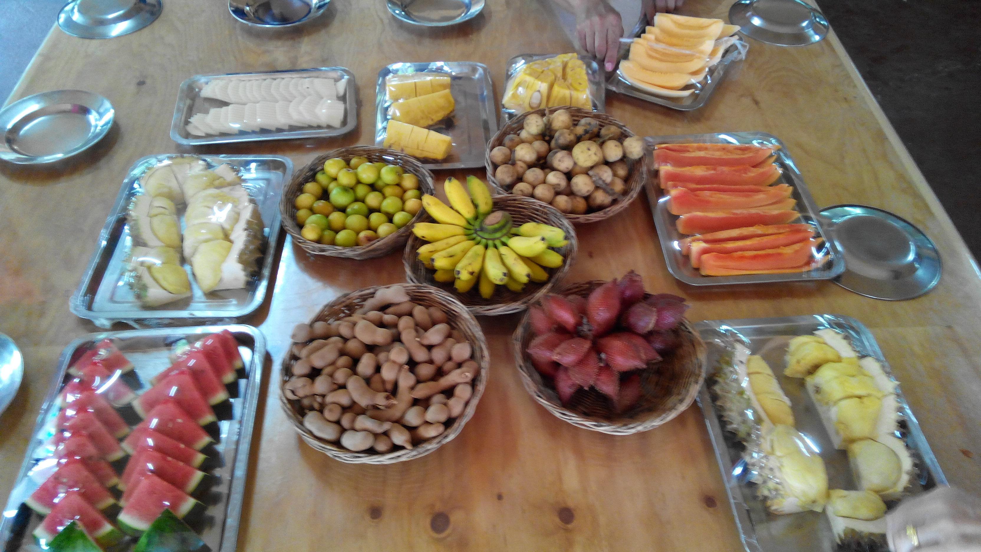 【携程攻略】春武里府泰国热带水果园景点