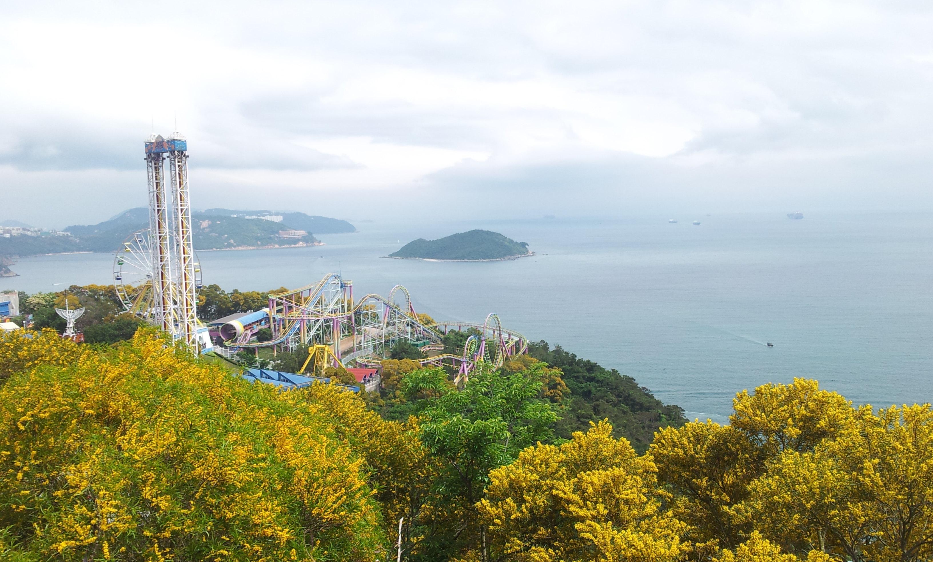 随手拍#盛夏时光的香港海洋公园一日游