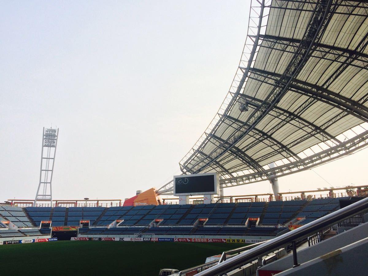 【攜程攻略】西歸浦市濟州世界杯足球場景點,設施很好圖片