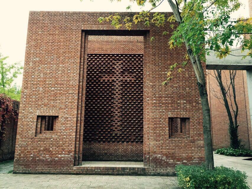 【携程攻略】北京红砖美术馆景点