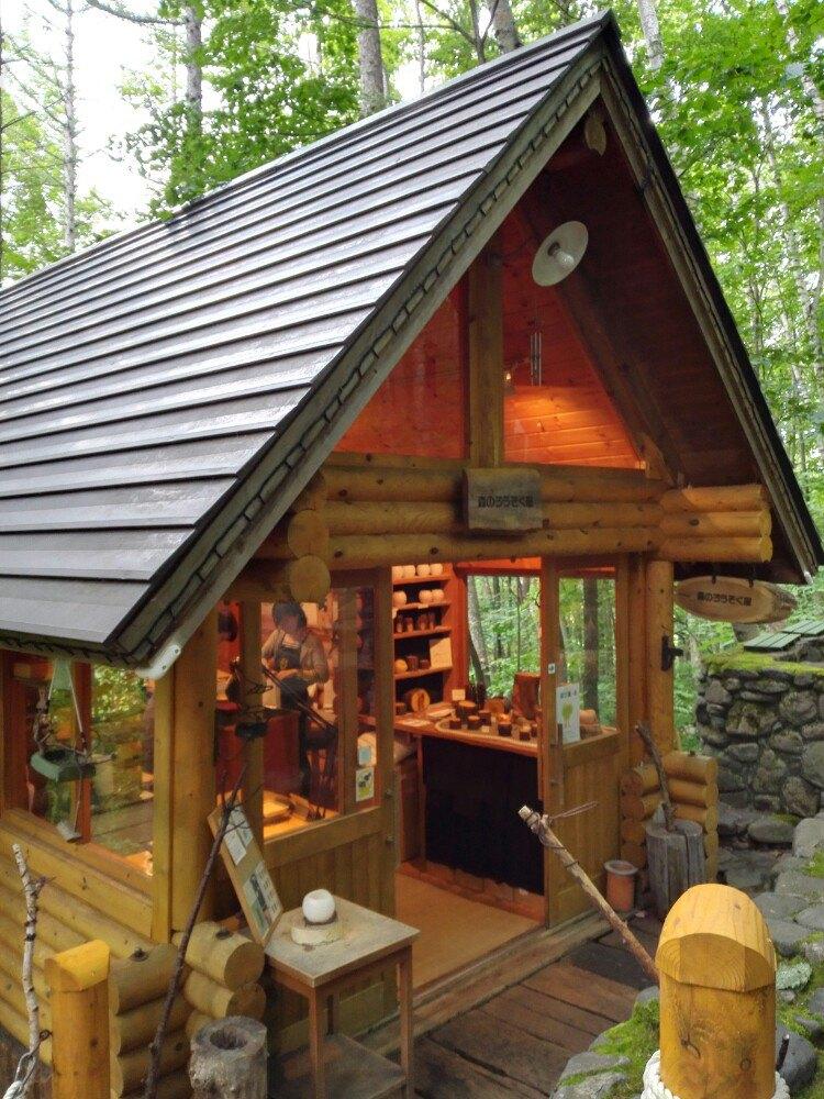 精致的小木屋
