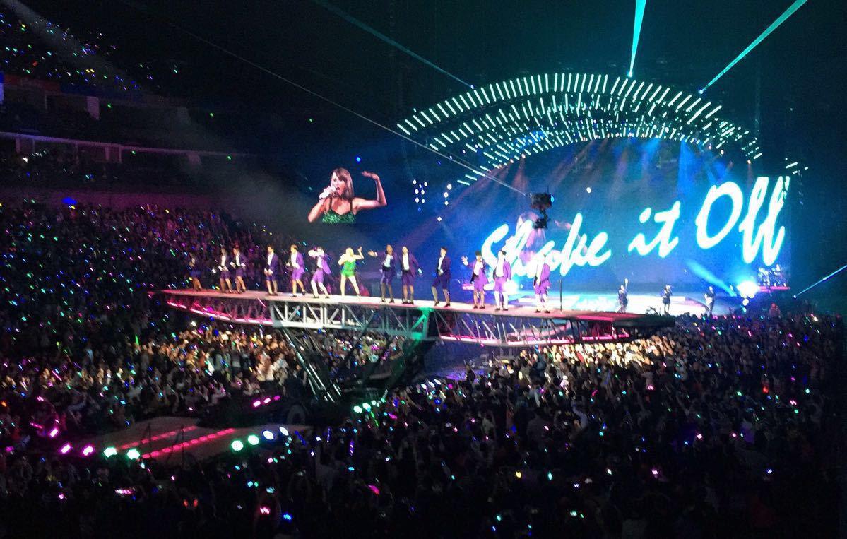 奔驰中心座位_梅赛德斯奔驰文化中心Usher巡回演唱会内场