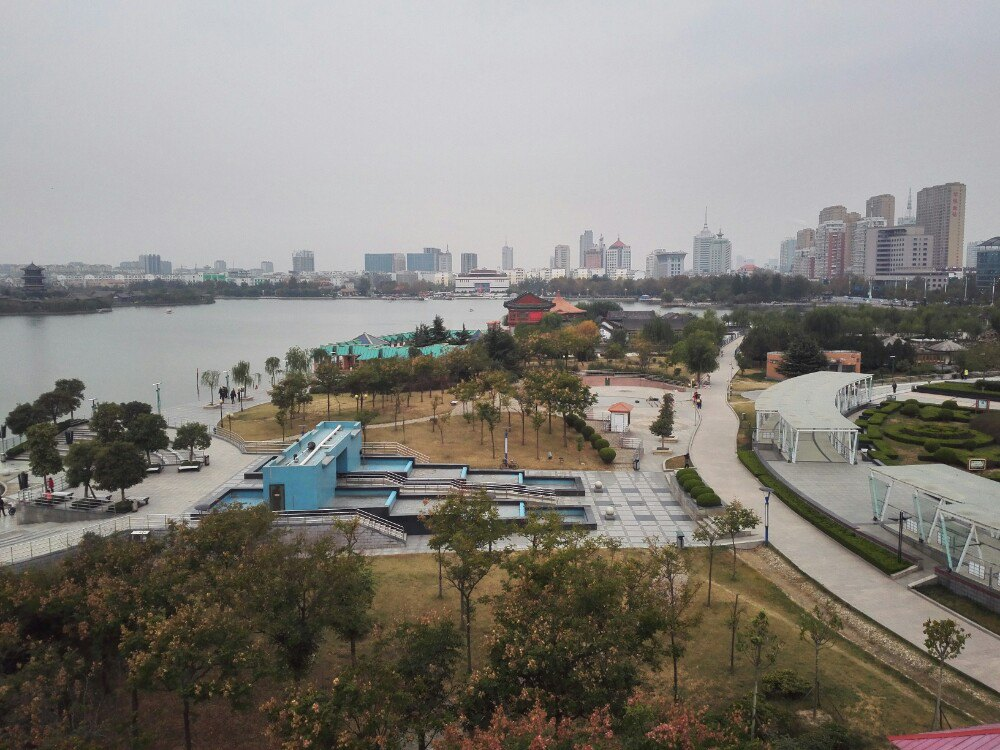 【携程攻略】聊城东昌湖景点,国家4a景区,风景独好,又