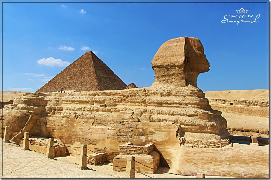 哈夫拉的样子雕成,作为看护他的俑住地—哈扶拉金字