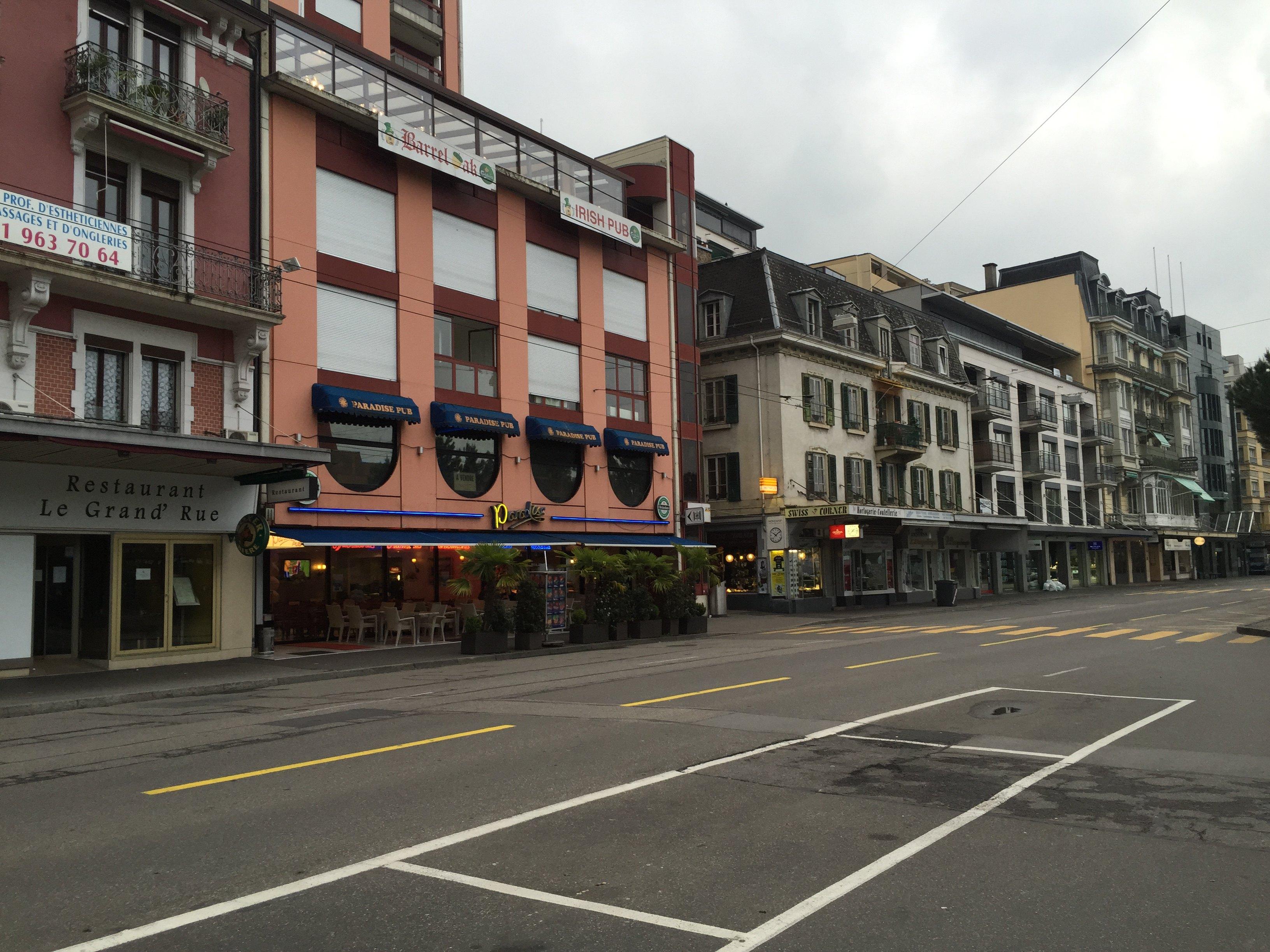 瑞士的老照片街景-瑞士的老照片图片