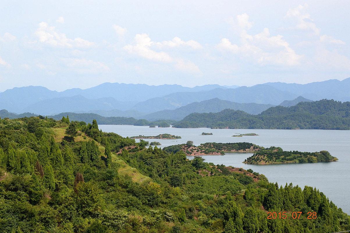 10日游山玩水之千岛湖篇(自驾游)---西子三千个 群山已失高