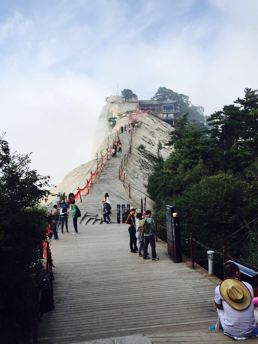 【携程攻略】陕西华山景点,值得去一次,感受下上山难图片