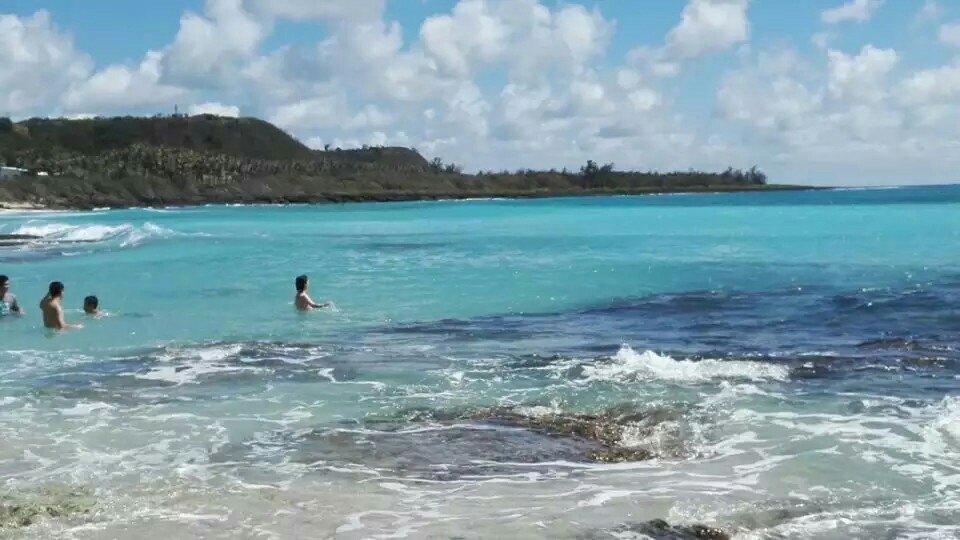 丁白沙湾海水浴场好玩吗