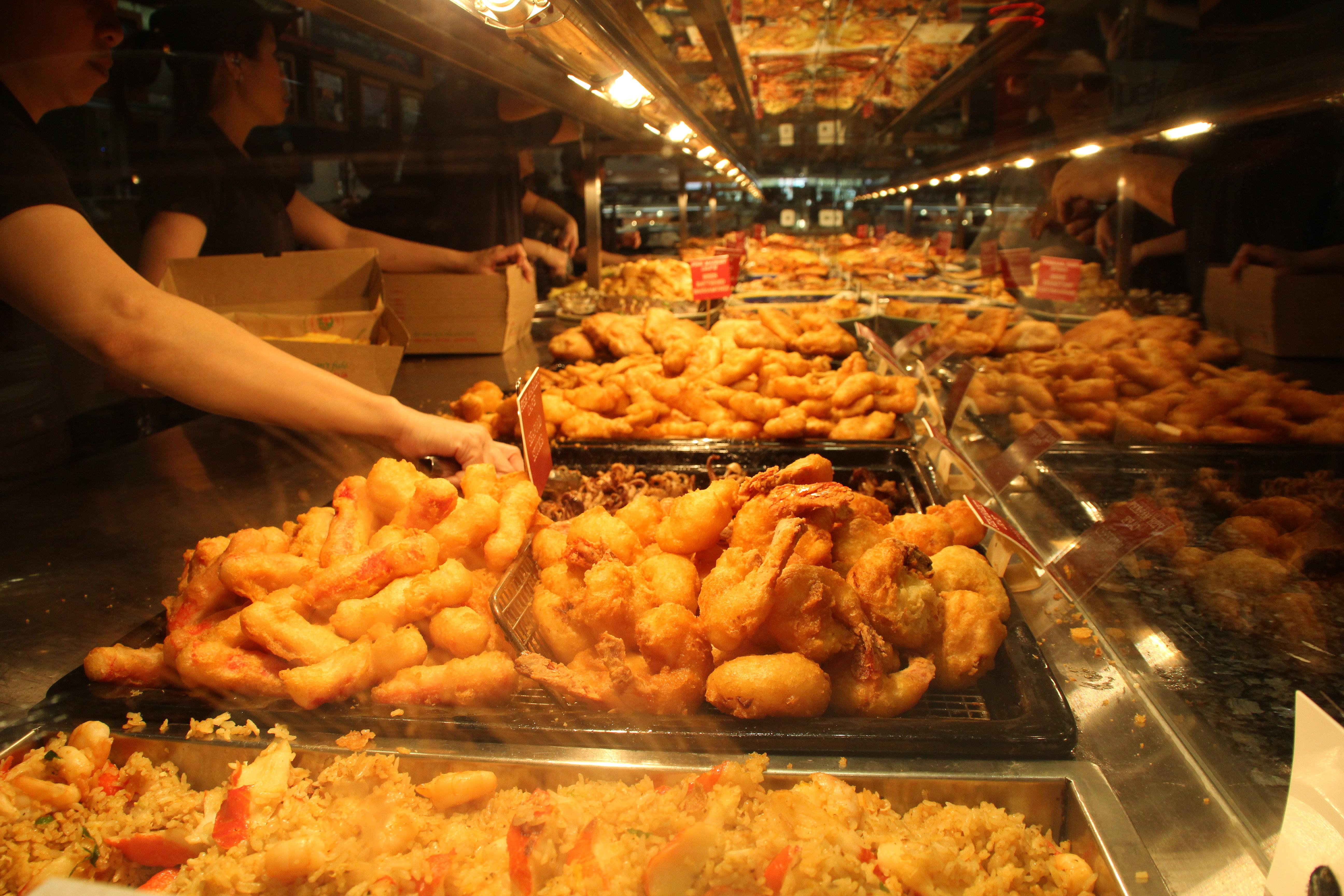悉尼鱼市寨一家第吊美食锅天堂图片
