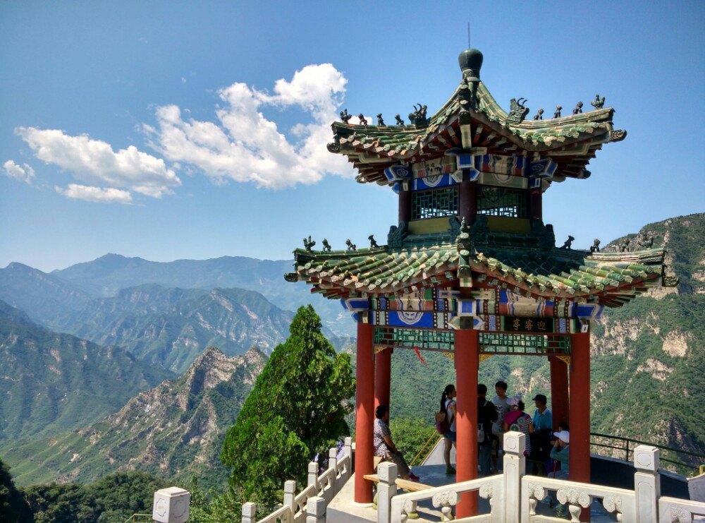 【携程攻略】北京房山圣莲山景区好玩吗