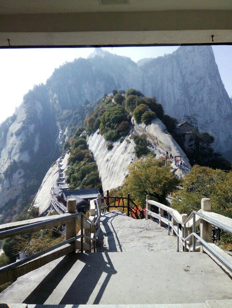 【携程攻略】陕西华山景点,2015年10月,西安.门票180图片