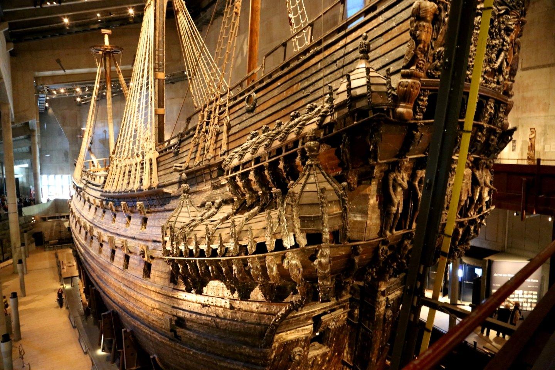 【携程攻略】斯德哥尔摩省斯德哥尔摩瓦萨沉船博物馆