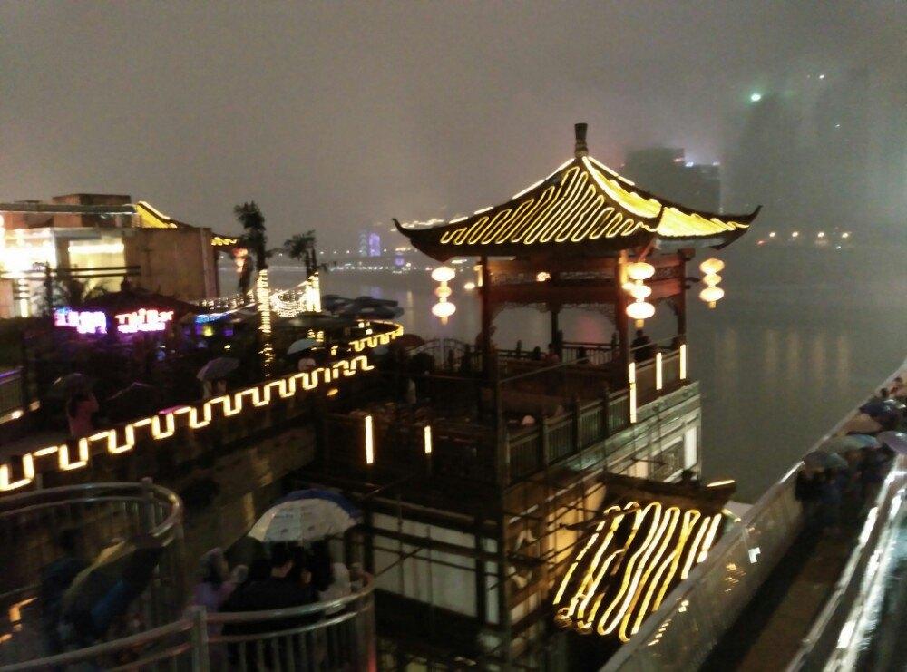 红涯垌看哈去那里吃了刘一手火锅一份菜
