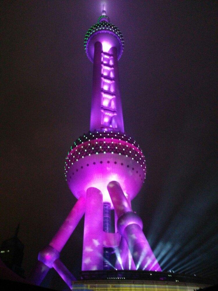 【携程攻略】上海东方明珠景点,俯瞰上海夜景,值得一.