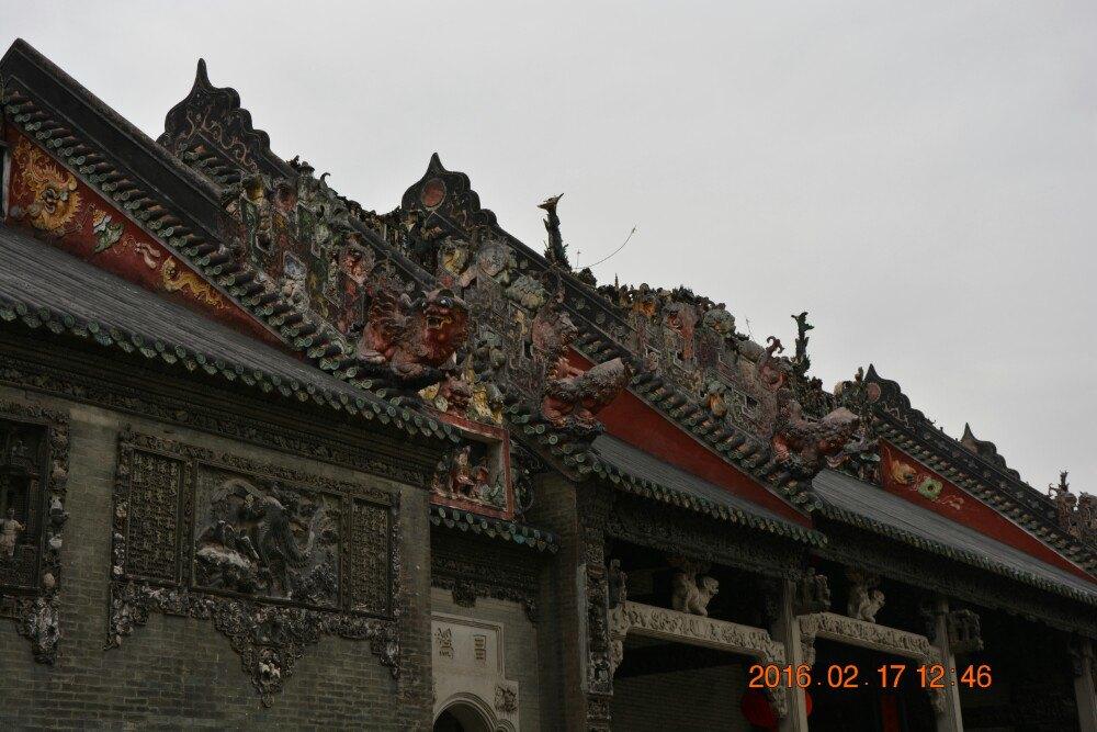 游客可以乘坐广州地铁到地铁1号线陈家祠地铁站下即可.