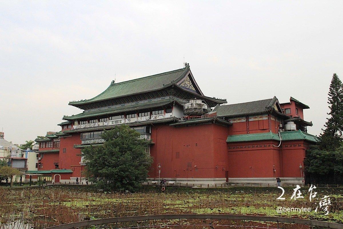 中式宫殿建筑外观图片