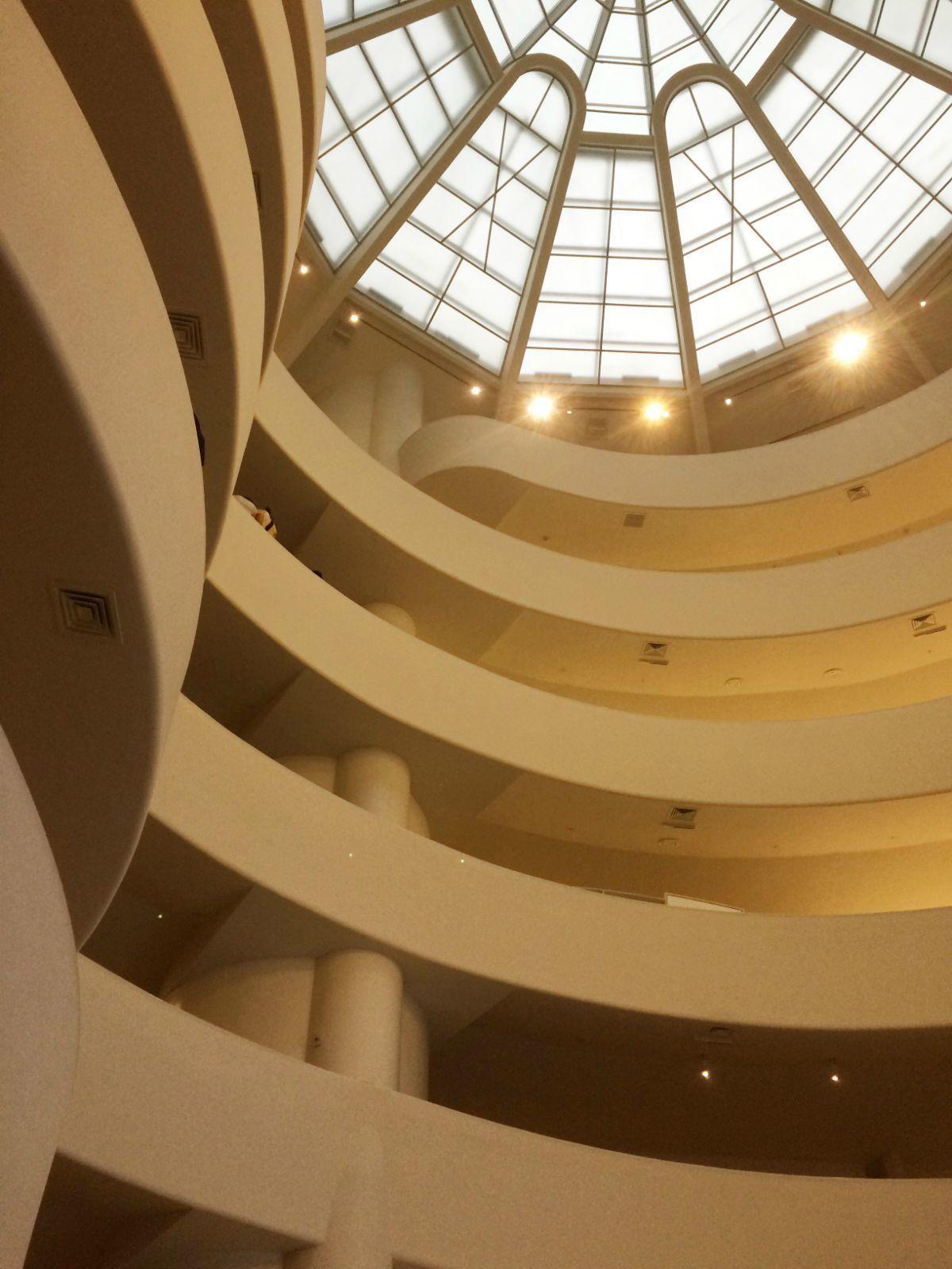 【携程攻略】纽约州纽约古根海姆博物馆好玩吗