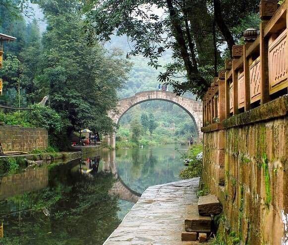 【携程攻略】四川上里古镇景点图片