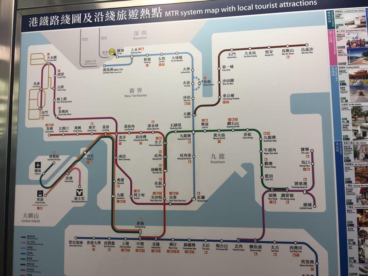 罗湖口岸过关的流程是什么 本人第一次去香港不懂