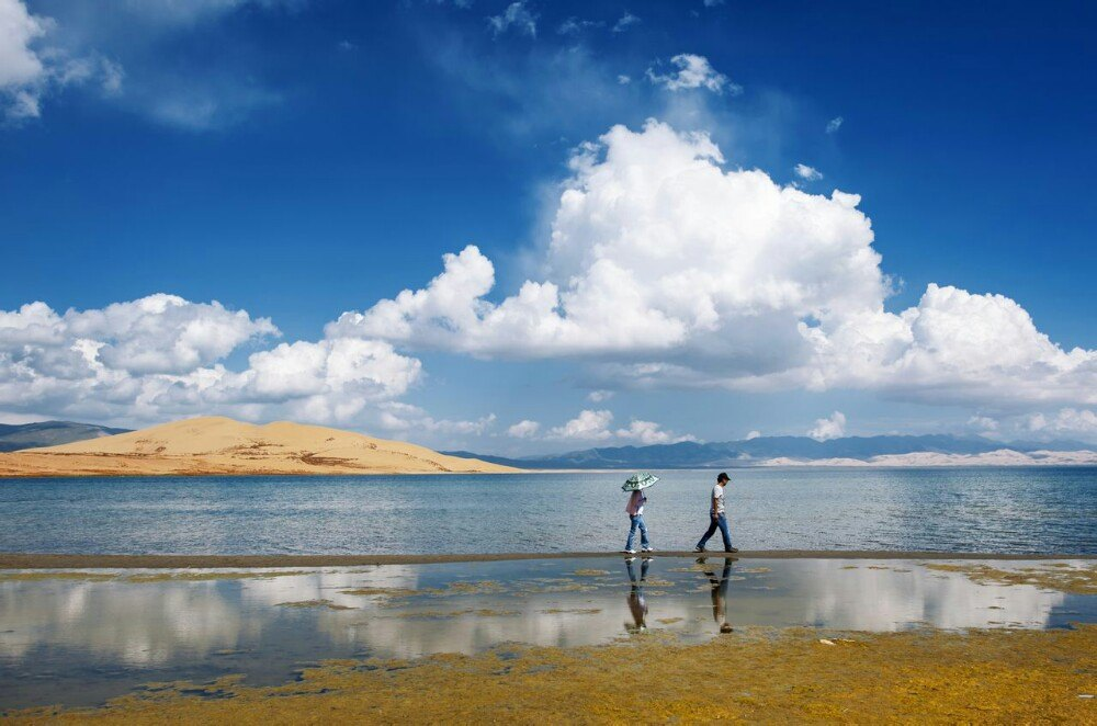 沙岛_青海湖沙岛