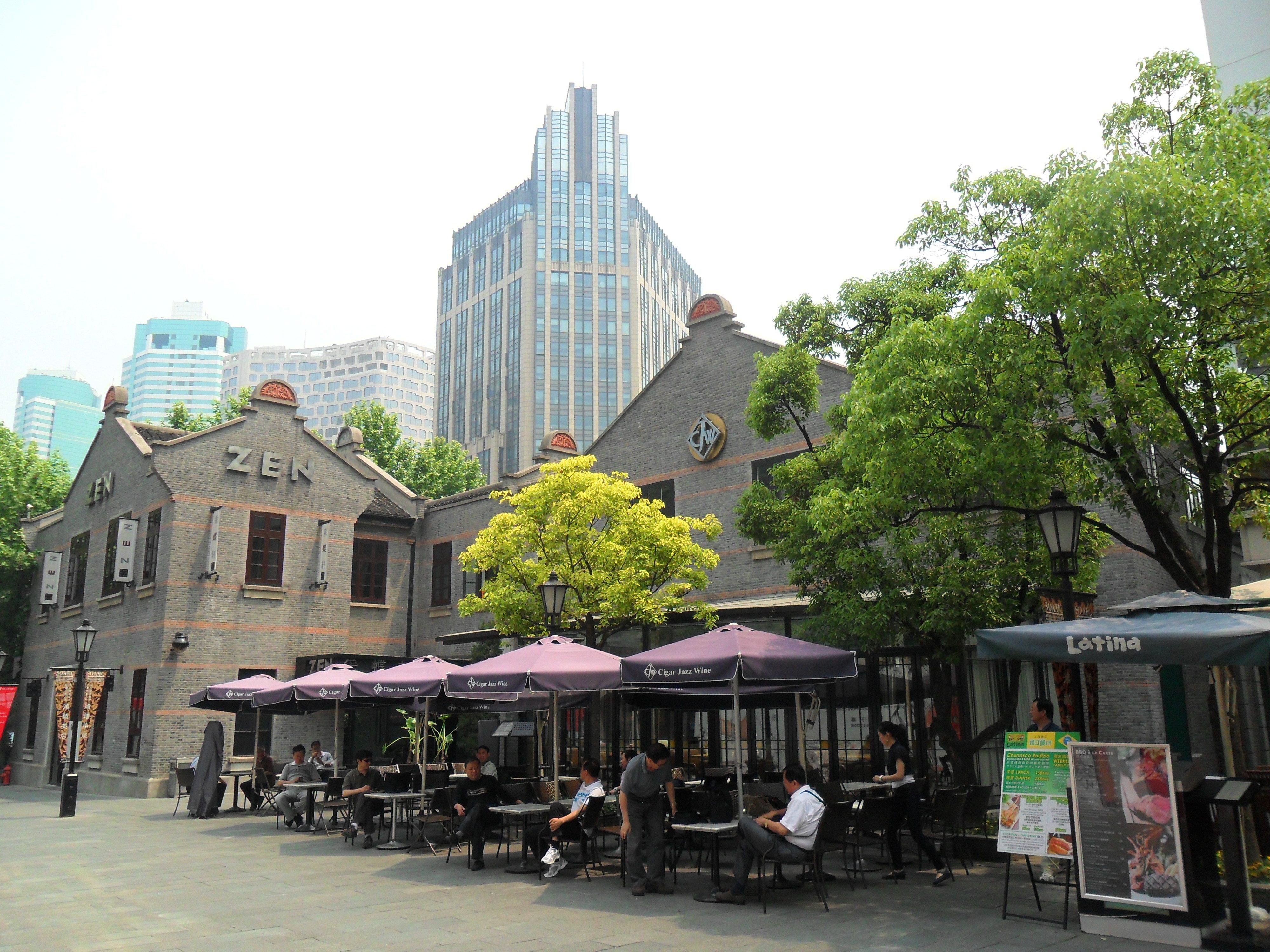 【携程攻略】上海新天地适合家庭亲子旅游吗