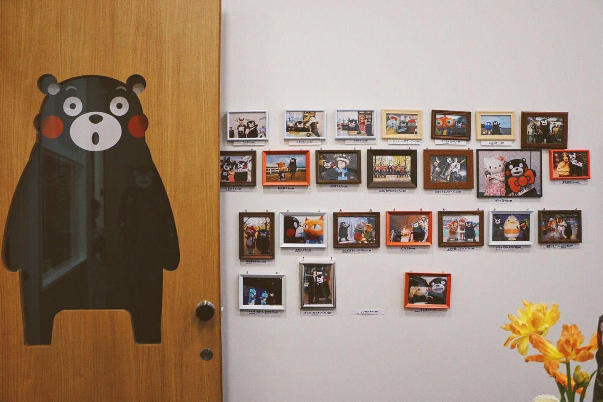 半小时一场,结束可以给萌熊拍照,因为时间关系不能和熊本熊合照哦